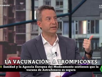 """La crítica del doctor César Carballo a la """"mala prensa"""" de la vacuna de AstraZeneca"""