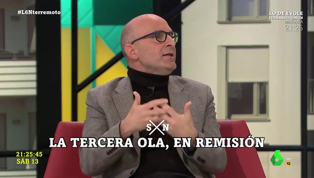 """El toque de atención de José Antonio López (neurovirólogo) a Madrid: """"Se quejaba de que no había un consenso de las CCAA, y ahora que lo hay también se queja"""""""