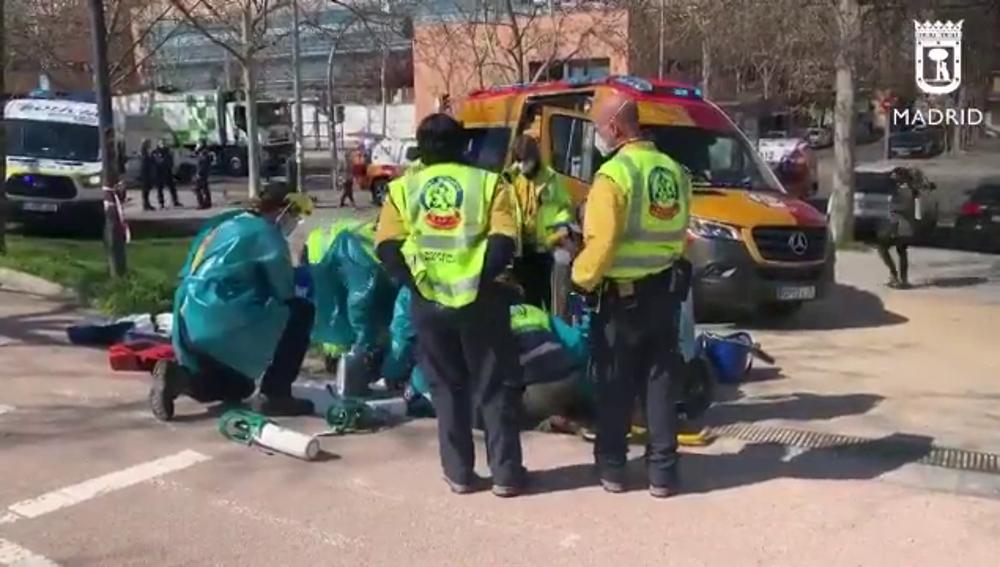 Un patinador atropella a una mujer de 79 años en Madrid y se da a la fuga tras dejarla en estado muy grave