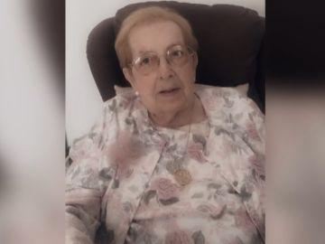 María, de 107 años