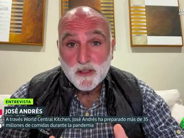 """La crítica del chef José Andrés: """"Si unos cocineros repartimos millones de comidas en un año, ¿qué no podrían hacer los gobiernos?"""""""