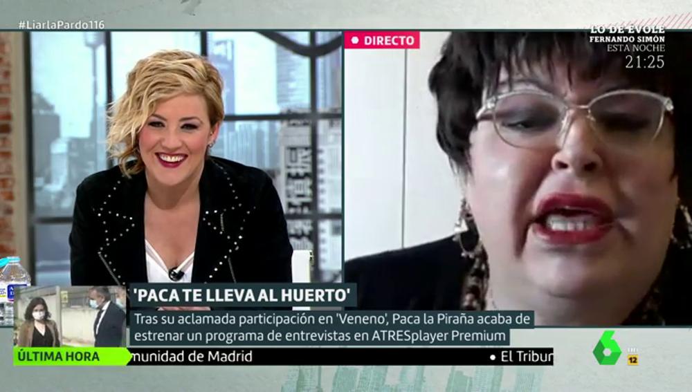 """Paca la Piraña cuénta cómo ha vivido el confinamiento por el coronavirus: """"Se me ha cerrado el toto"""""""