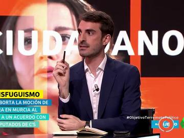 El politólogo Pablo Simón explica en dos minutos por qué sí cree que ha habido transfuguismo en Murcia