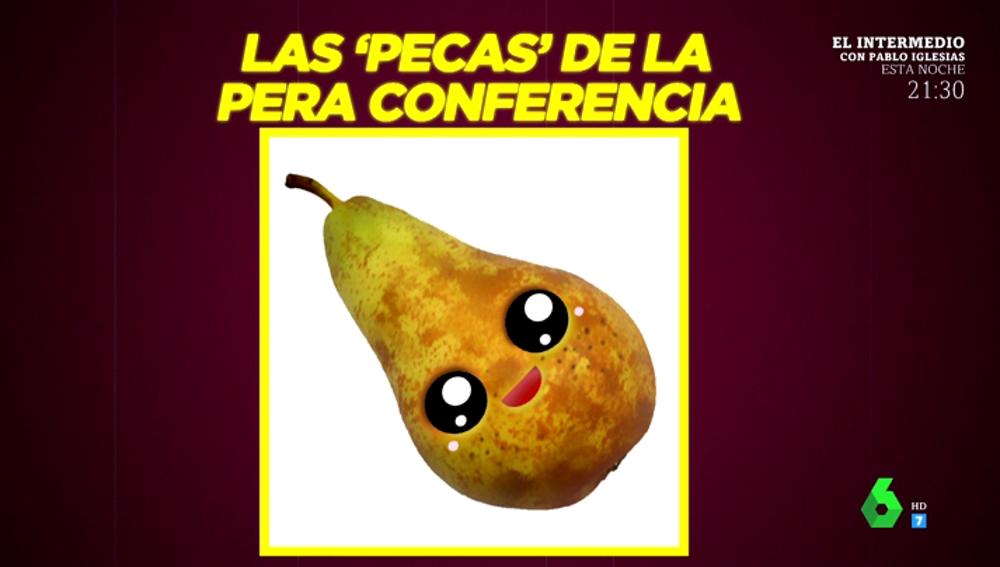 Boticaria García desmonta la mala fama de las manchas en las frutas