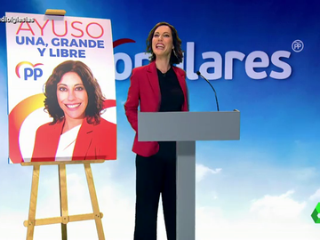 """El primer y eufórico mitin electoral de Ayuso: """"Si ser fascista es decir que los madrileños somos una raza superior soy culpable"""""""