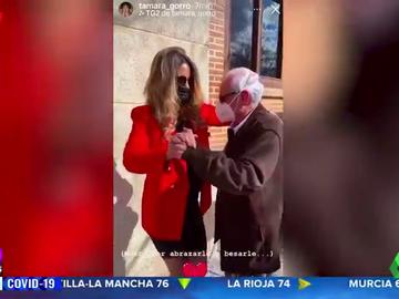 """Tamara Gorro y el emotivo reencuentro con su abuelo: """"Este momento me ha llenado de vida"""""""