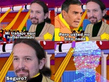 Estos son los mejores memes de la presentación de Pablo Iglesias a las elecciones de Madrid