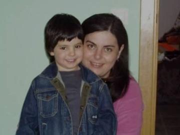 La 'streamer' Sisi Nono en una fotografía junto a su hijo Rubén