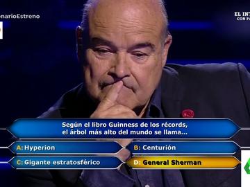 """La pregunta de Juanra Bonet que indigna a Antonio Resines: """"¿Qué imbecilidad de nombre es ese?"""""""