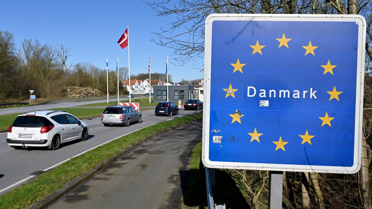 Imagen de la frontera danesa