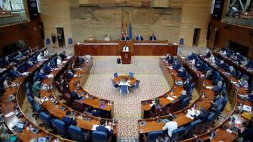 Vista general de la Asamblea de Madrid