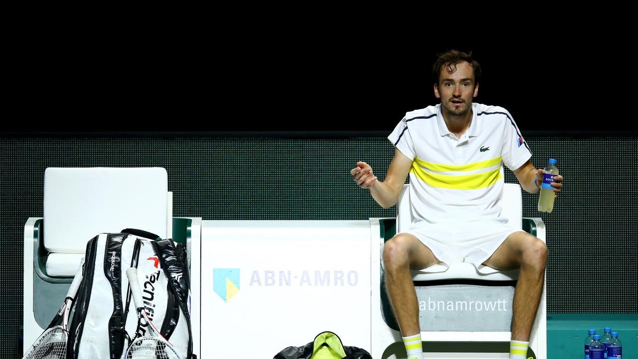 Daniil Medvedev en el ATP 250 de Marsella