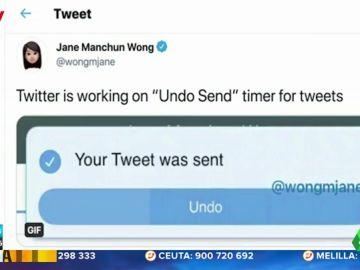 Twitter prepara un temporizador de cinco segundos para deshacer una publicación