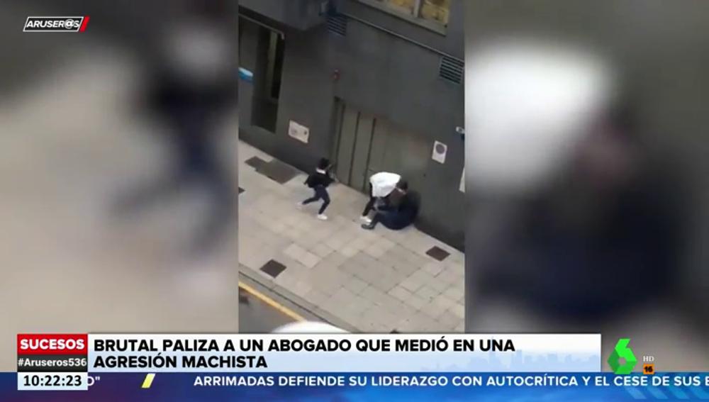 Brutal paliza a un abogado tras intentar evitar una agresión machista en Oviedo