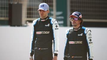 Fernando Alonso y Esteban Ocon