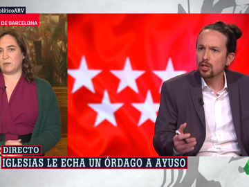La alcaldesa de Barcelona, Ada Colau, en Al Rojo Vivo