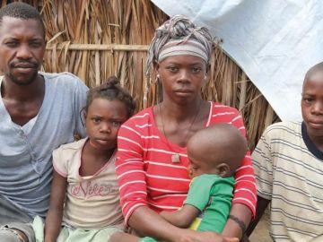 Una familia de Mozambique