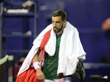 Damir Dzumhur, tenista bosnio