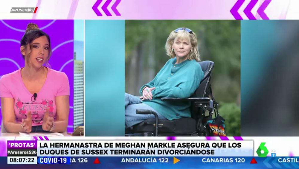 """La hermanastra de Meghan Markle carga contra los duques de Sussex: """"Ella es narcisista y él tiene el síndrome de Estocolmo"""""""