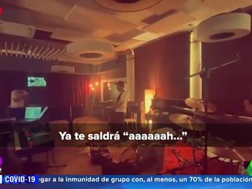 El inédito audio de la madre de Pablo López al escuchar el ensayo de su nuevo tema