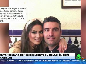 """Habla Sara, la mujer a la que relacionan con Casillas: """"Tengo mi pareja y una vida tranquila"""""""