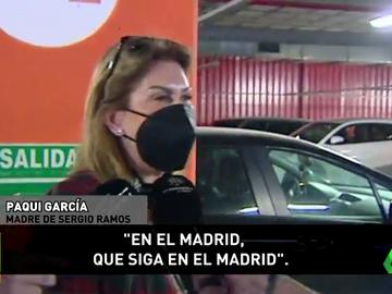 """Hablan los padres de Sergio Ramos: """"Que siga en el Real Madrid"""""""