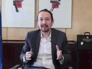 El vídeo de Iglesias para despedirse del Consejo de Ministros