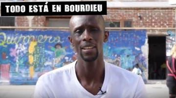 Serigne Mbaye, portavoz del sindicato de manteros