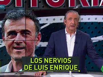 """Pedrerol: """"Igual que a nosotros, a Luis Enrique tampoco le gusta la selección que ve"""""""