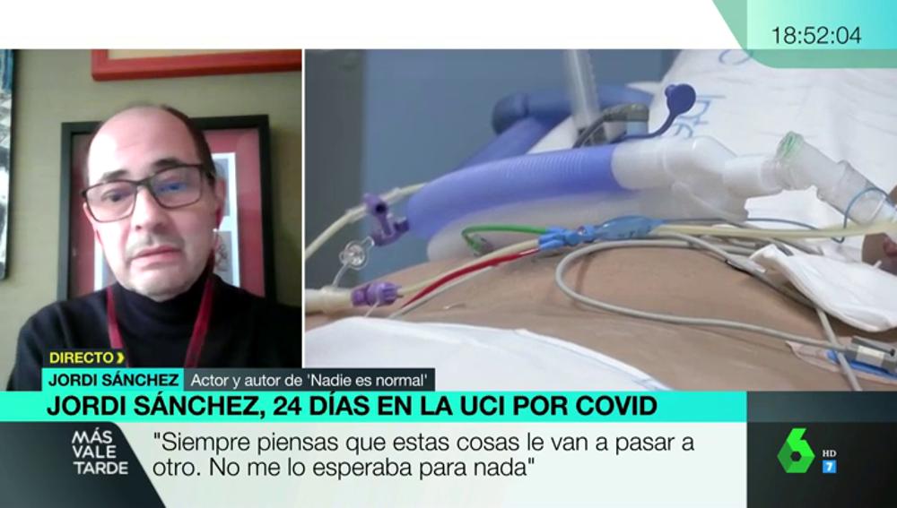 "El mensaje de Jordi Sánchez a los irresponsables: ""Nos ha tocado esto, a mis abuelos les tocó ir a la guerra"""