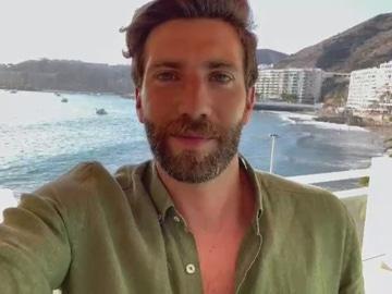 Kevin Gómez teletrabaja en Gran Canaria