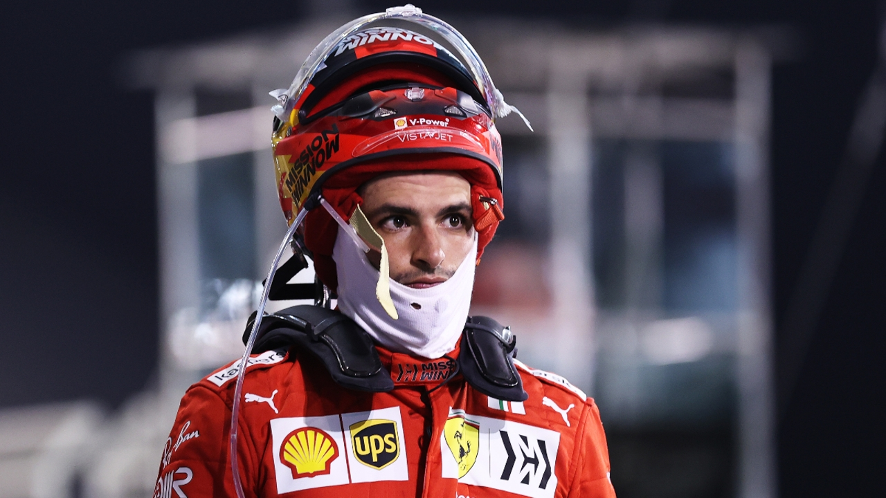 Carlos Sainz, de Ferrari