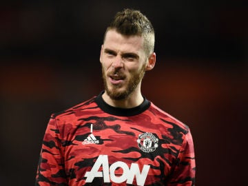 David de Gea, con el United