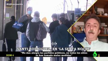 """La indignación de Santi Rodríguez: """"No comprendo que puedan venir franceses a España y yo no pueda llevar a mi hija a Sevilla"""""""