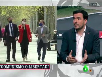 Alberto Garzón responde a Ayuso en Al Rojo Vivo