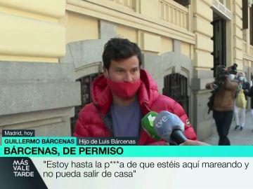 """Willy Bárcenas, enfadado con la prensa: """"Estoy hasta la polla, mi padre lleva años encerrado y no puede salir de casa"""""""
