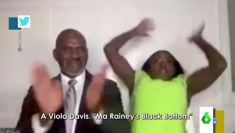 La desternillante reacción de Viola Davis tras ganar en los SAG Awards que arrasa en redes