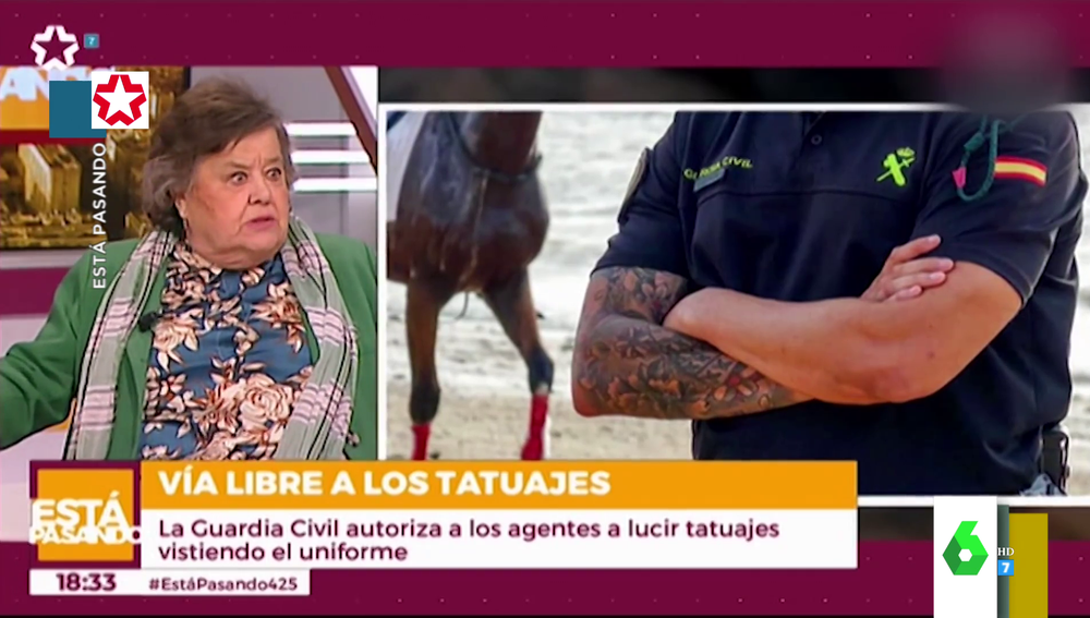 """""""Reconozco que me gusta un cuerpo desnudo"""": la inesperada confesión de Cristina Almeida sobre sus ligues con tatuajes"""