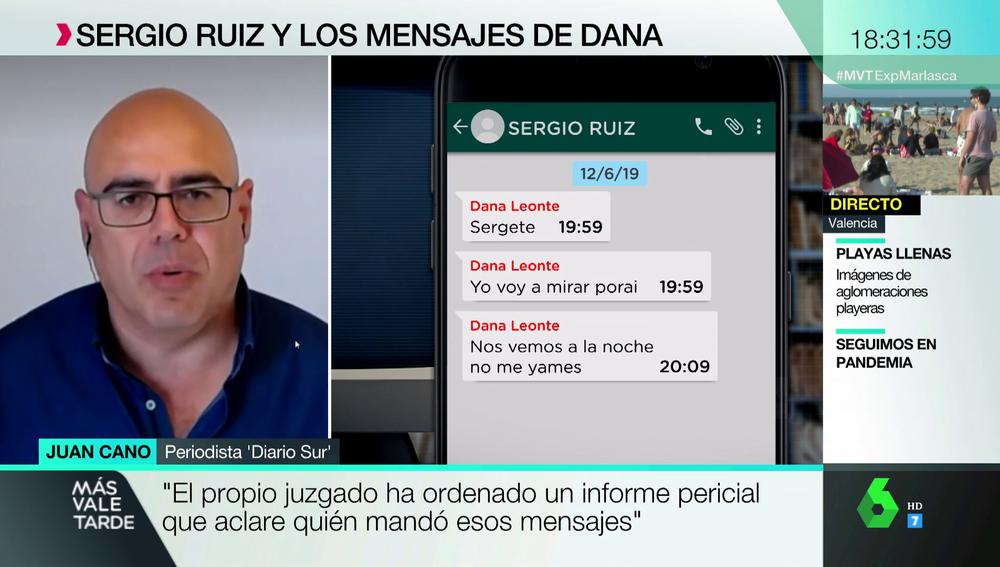 Un nuevo informe sostiene que los mensajes del móvil de Dana tras su desaparición los escribió el presunto homicida