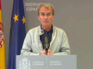 Antena 3 Noticias 1 (05-04-21) Fernando Simón advierte ante la subida de la incidencia: 'Estamos observando una tendencia al alza en toda España'