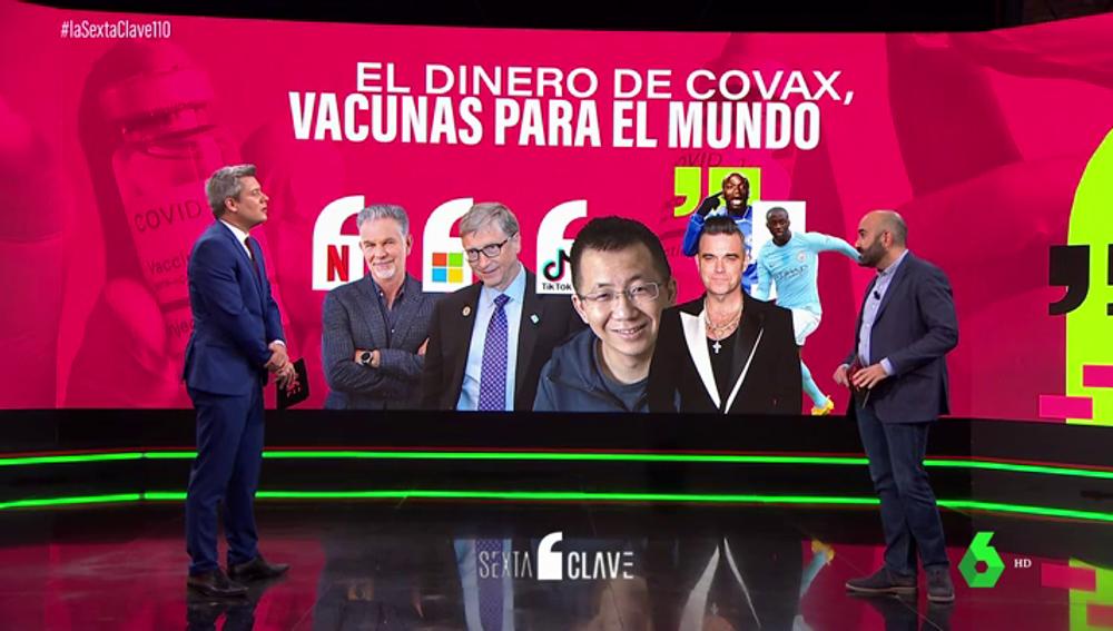 Los mayores donantes de vacunas del mundo
