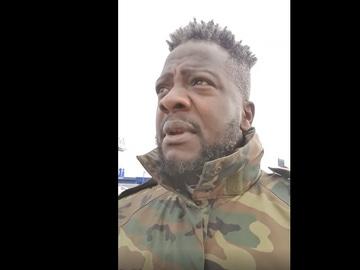 Bertrand Ndongo, militante de Vox