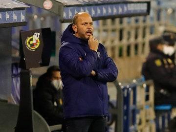 José Alberto López, entrenador del CD Mirandés