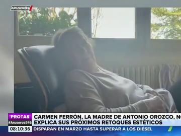 El desternillante vídeo de la madre de Antonio Orozco explicando los retoques estéticos que quiere hacerse