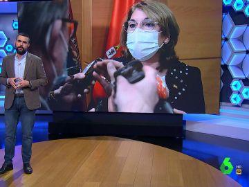 El Intermedio (06-04-21) La crítica de Dani Mateo a Mabel Campuz