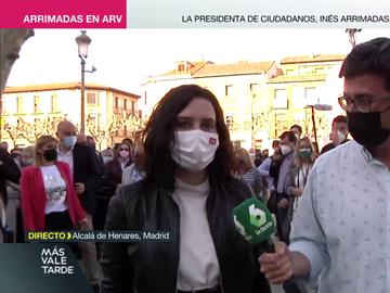 Más Vale Tarde (06-04-21) Ayuso se defiende de las críticas de Sánchez tras tantear la compra de la vacuna rusa: 'Lo desleal es cruzarse no hacer nada'