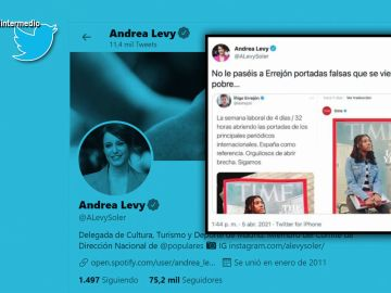 """El 'zasca boomerang' de Andrea Levy a Íñigo Errejón que le termina dando a ella: """"Ha acabado metiendo la cabeza bajo tierra"""""""