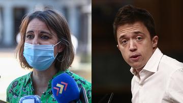 La delegada de Cultura de Madrid, Andrea Levy, y el líder de Más País, Íñigo Errejón
