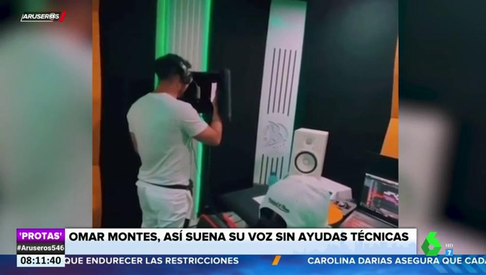 Así suena realmente la voz de Omar Montes: filtran un vídeo de él cantando sin ayudas técnicas