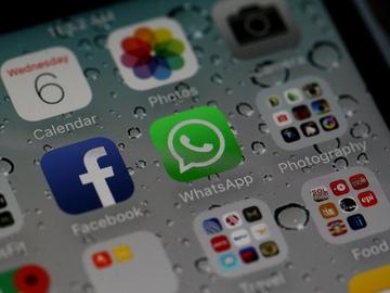 El logo de la app móvil WhatsApp